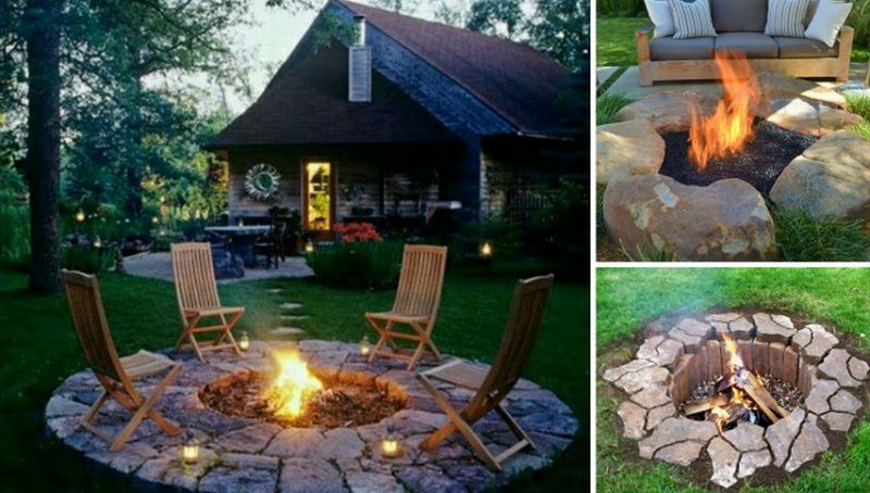 35 diy fire pit tutorials stay warm and cozy for Step by step fire pit