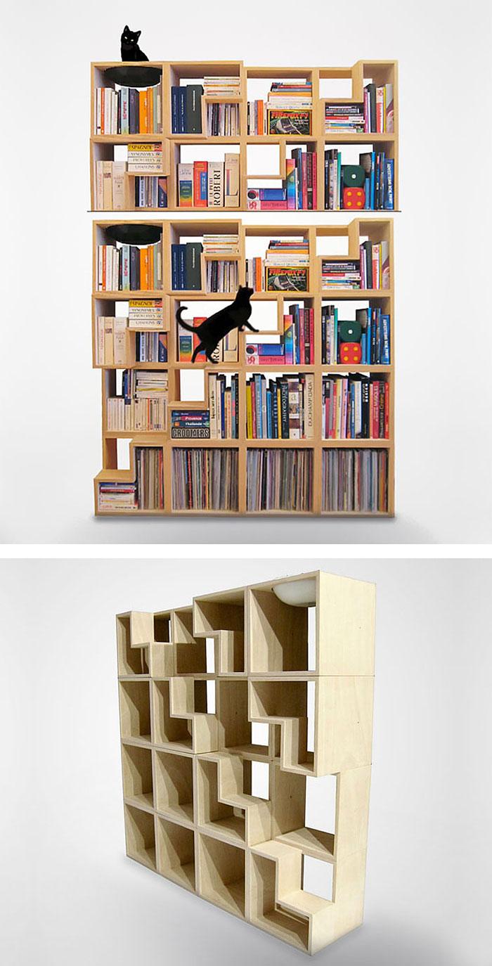 50 of the most creative bookshelves ever architecture - Estantes para libros ...