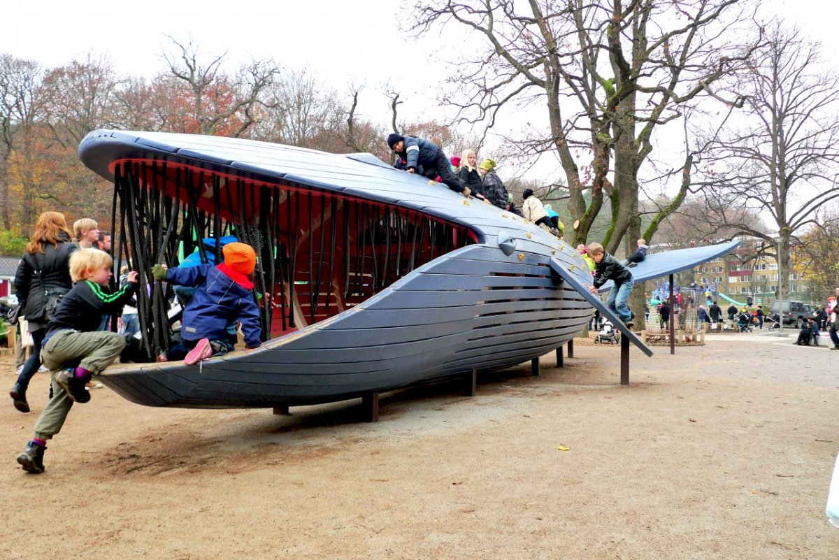 Of The Worlds Coolest Playgrounds Designed By Top Architects - 15 of the worlds coolest playgrounds
