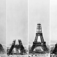 20+ Of The World's Most Iconic Landmarks Before They Were Finished