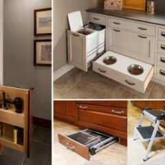 20+ Clever Hidden Storage Solutions You'll Wish You Had At Home