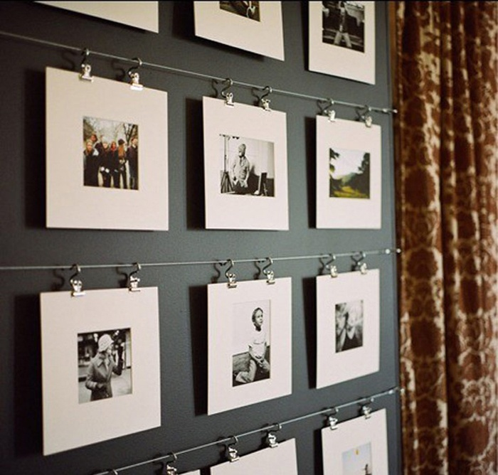 ad cool ideas to display family photos on - Picture Frame Design Ideas