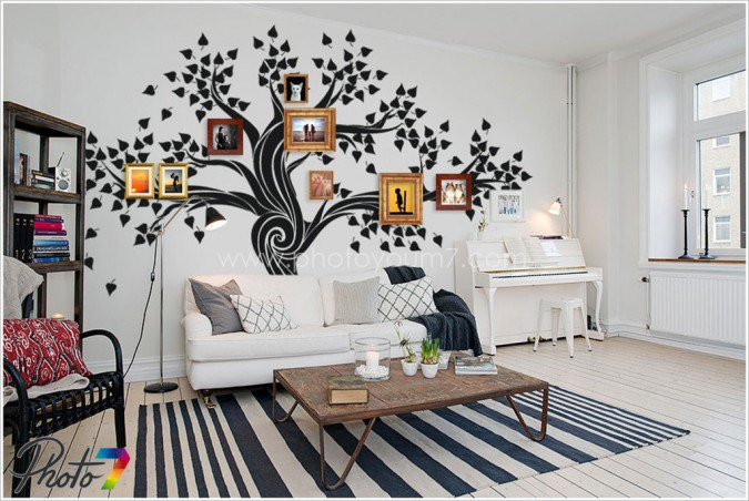 AD-Cool-Ideas-To-Display-Family-Photos-On-Your-Walls-35