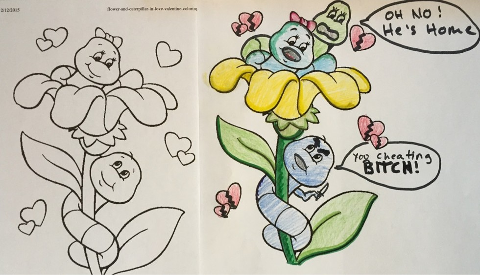 30 Corrupted Coloring Books That Will Ruin Your Childhood ...