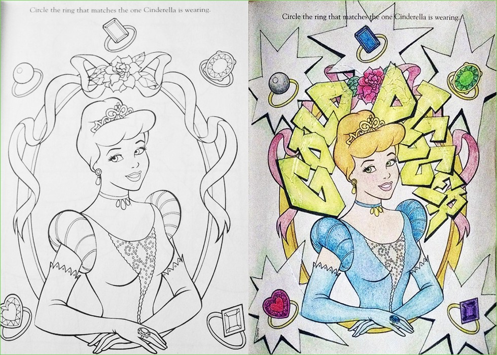 Corrupted Coloring Books That Will Ruin Your Childhood - 27 childrens books that will destroy your childhood