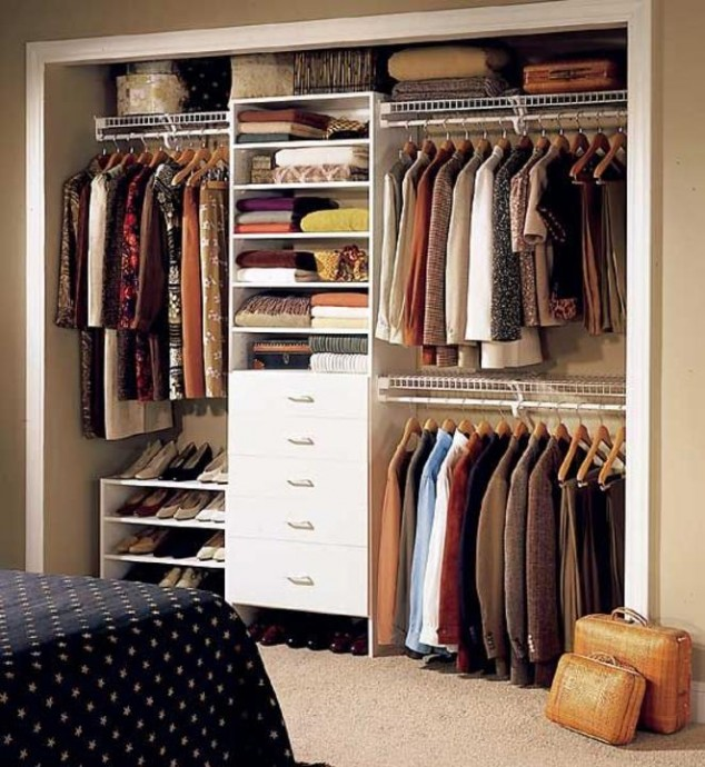 Elegant AD Genius Ways To Organize Your Closets And