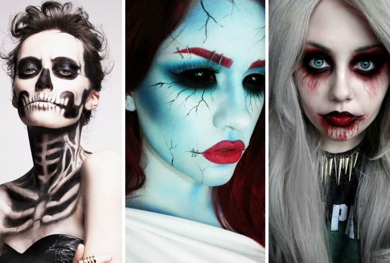 18 makeup ideas that would scare stephen king 3 is just. Black Bedroom Furniture Sets. Home Design Ideas