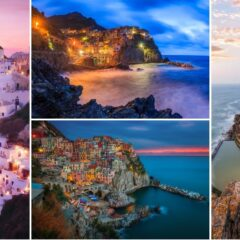 90+ Of The Most Stunning Cliff-Side Towns And Villages