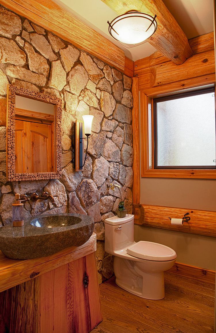 30 Exquisite Amp Inspired Bathrooms With Stone Walls