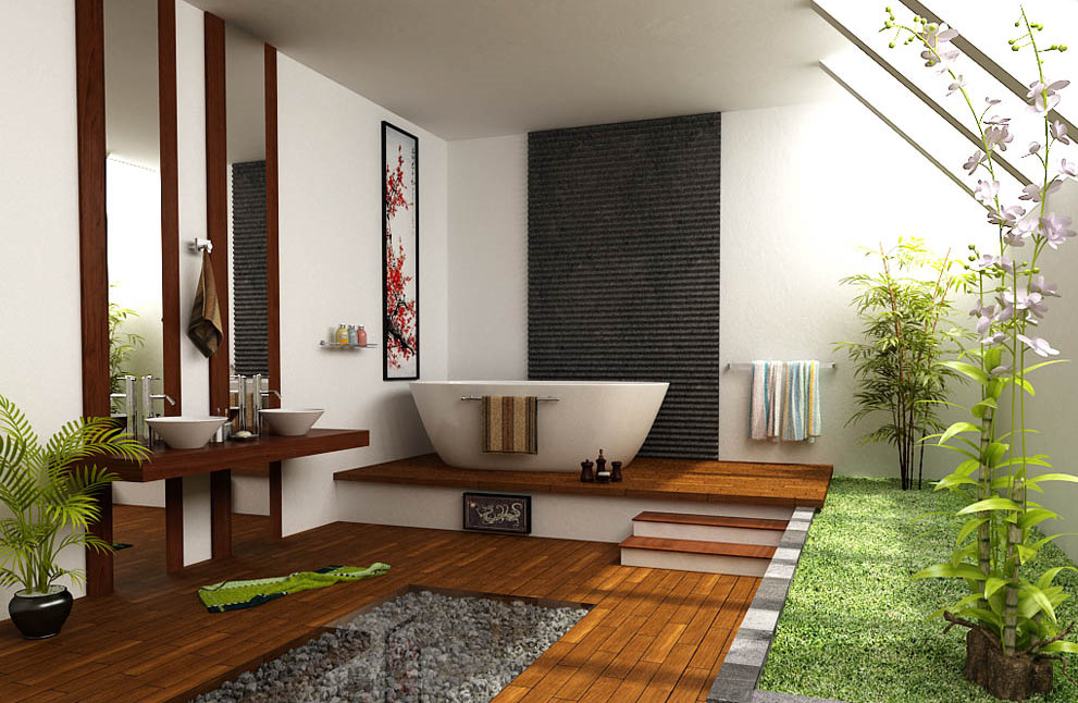 13-2-AD-Floating-bamboo-ceiling-for-the-Asian-style-bathroom
