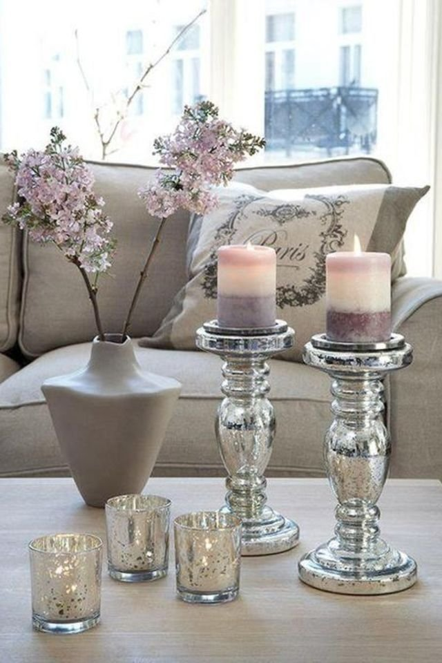 20 super modern living room coffee table decor ideas that for Table centerpieces for home
