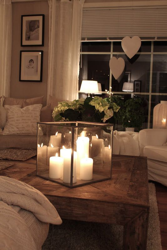 Inspiring Candles Coffee Table Decor Ideas