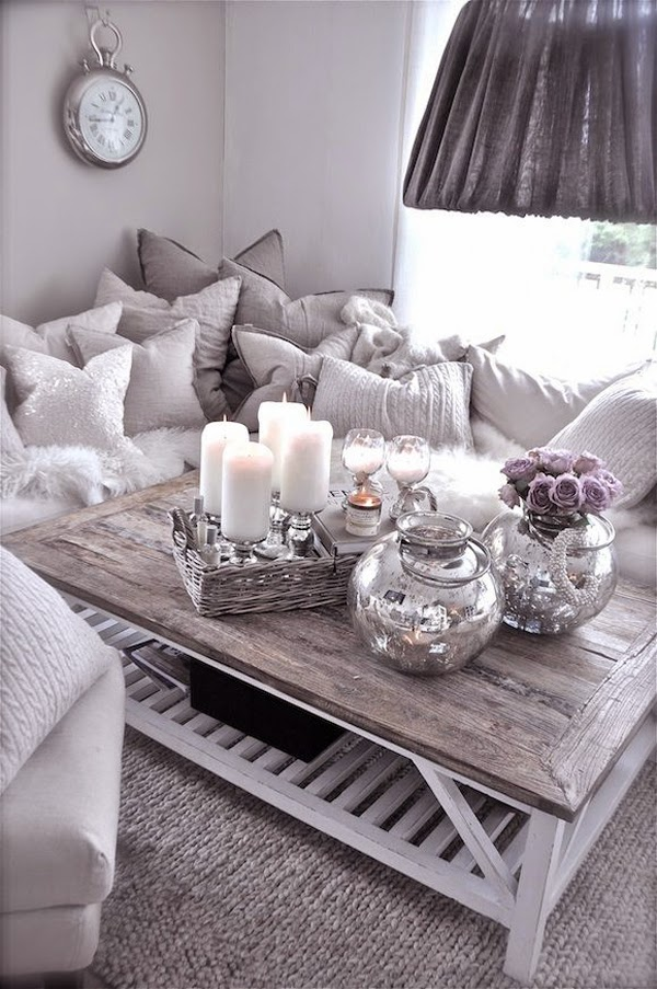 Coffee table decor ideas pics