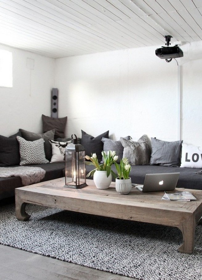 20+ Super Modern Living Room Coffee Table Decor Ideas That ...