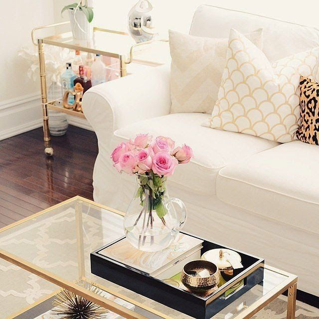 Glass Coffee Table Decorating Ideas 20+ super modern living room coffee table decor ideas that will