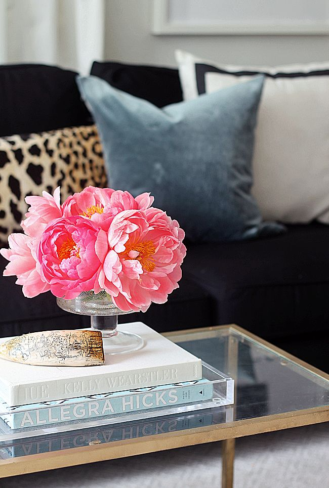 Living Room Table Decor Ideas