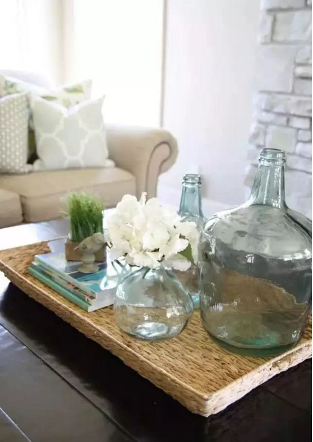 Ad 21 Bottle Vase Coffee Table Decor
