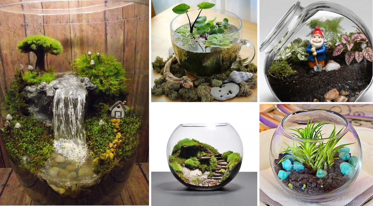 25 adorable miniature terrarium ideas for you to try. Black Bedroom Furniture Sets. Home Design Ideas