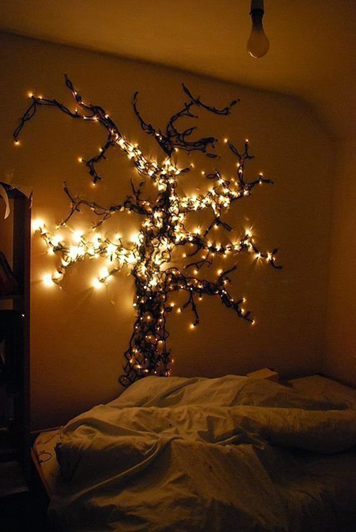 Awesome StringLight DIYs For Any Occasion - How to use fairy lights in bedroom