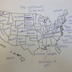 It's Thanksgiving So We Asked Brits To Label The United States — We're So Sorry, America