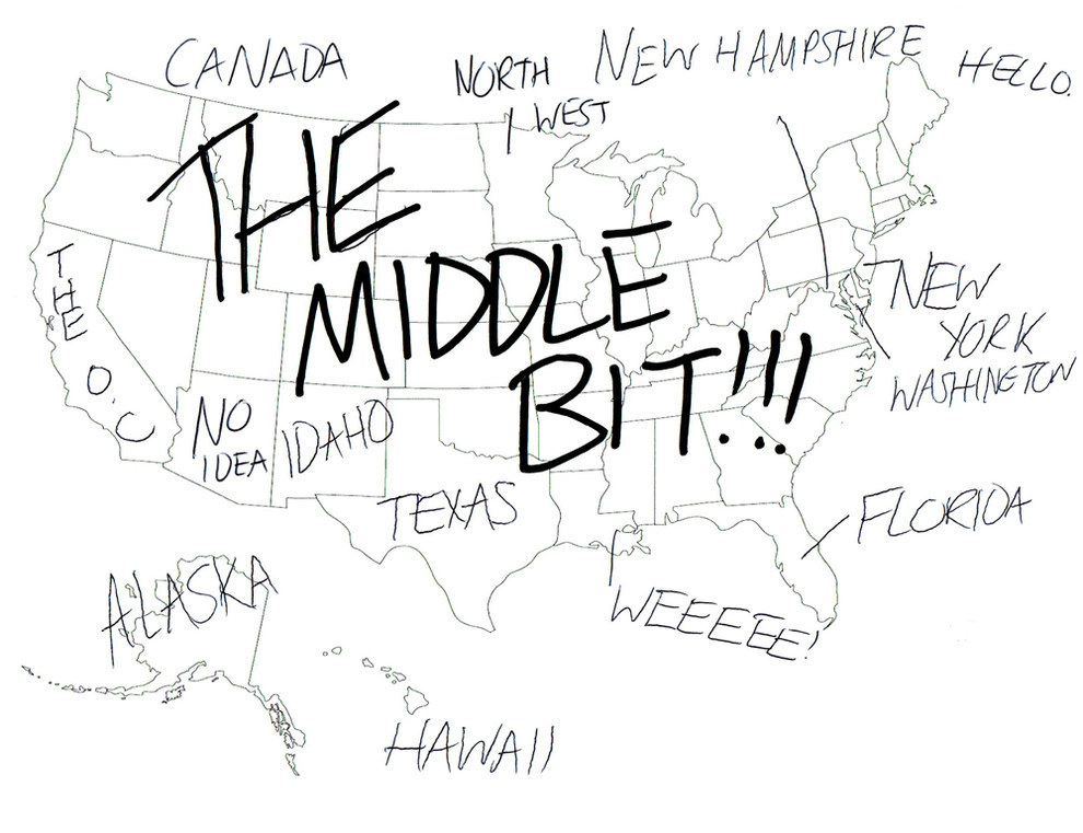 Us Map Without Labels ad britians place usa states on map once