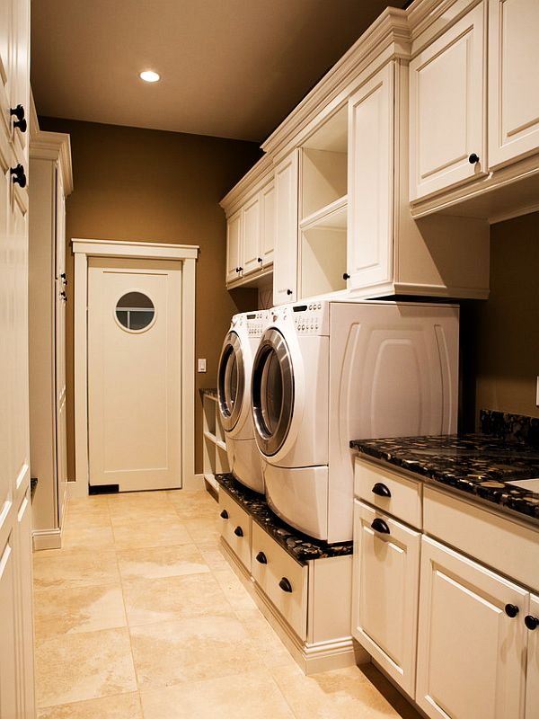 60 clever laundry room design ideas to inspire you - Laundry room layout ideas ...