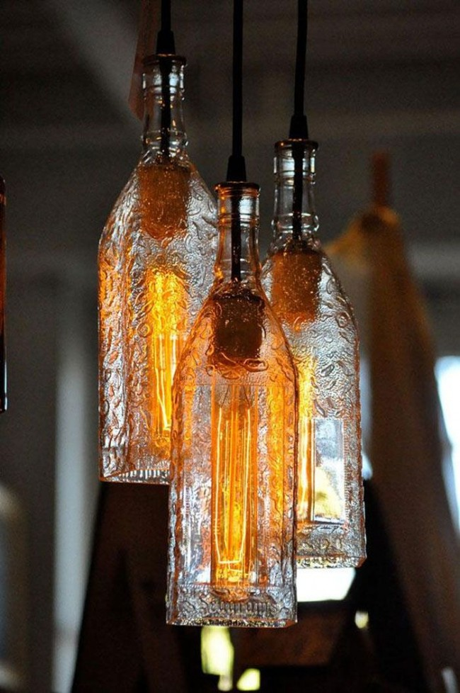 Ad Creative Diy Bottle Lamps Decor Ideas