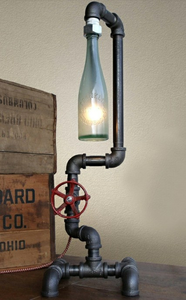 Homemade Lamp Ideas 25+ diy bottle lamps decor ideas that will add uniqueness to your home