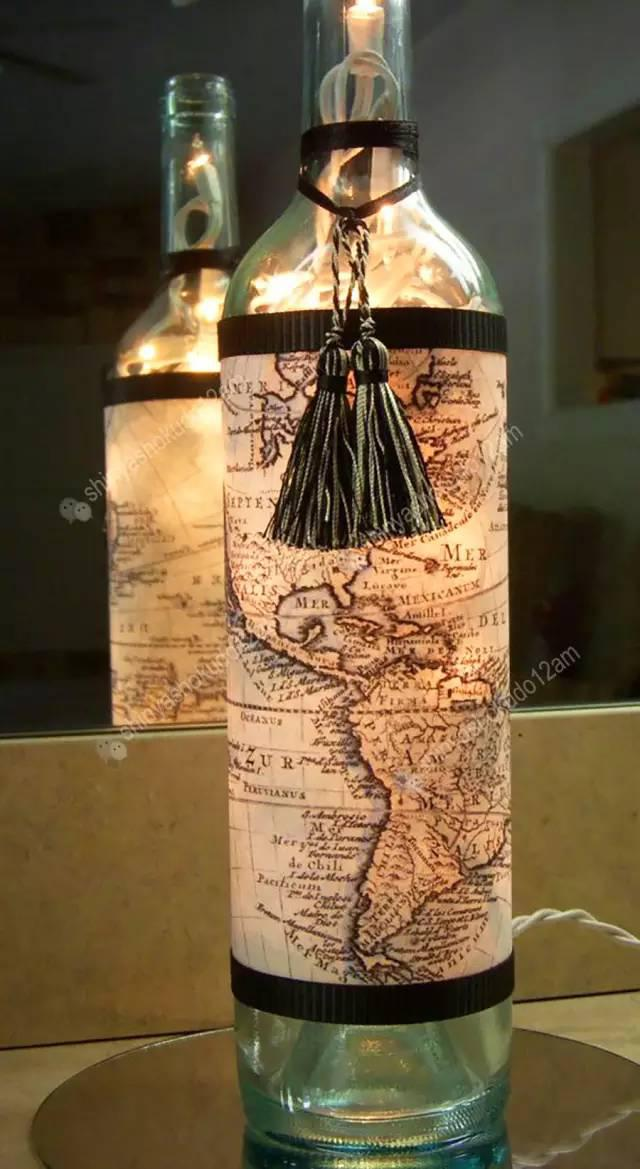 Whiskey Bottle Decoration Ideas Gorgeous 25 Diy Bottle Lamps Decor Ideas That Will Add Uniqueness To Your Home Decorating Inspiration