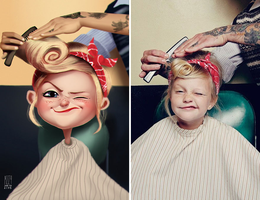 AD-Digital-иллюстрации-Люди-портреты-Хулио-Сезар-01