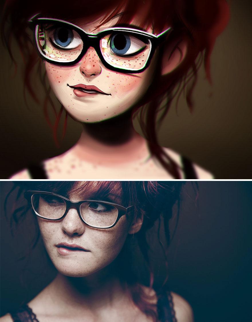 AD-Digital-иллюстрации-Люди-портреты-Хулио-Сезар-04