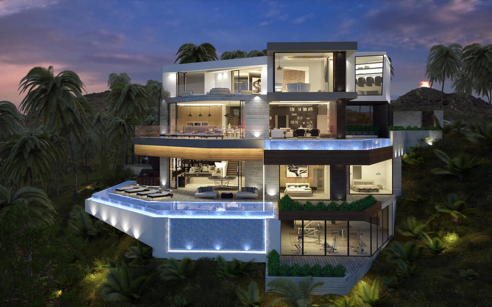 Exceptional Architecture Concepts From Vantage Design Group on Pool Villa Floor Plans