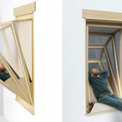 """More Sky"" Window Turns Into Balcony To Give Small Apartments Outdoor Experience"