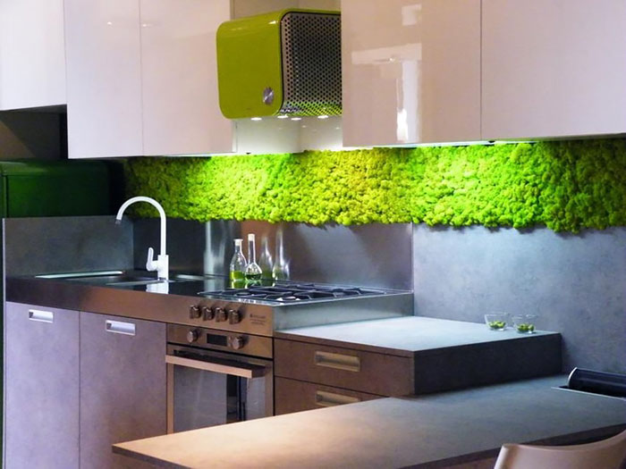 Interior Design Walls moss walls: the interior design trend that turns your home into a