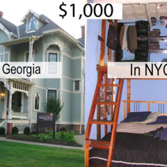 This Is What $1,000 A Month In Rent Would Get You All Around The U.S.