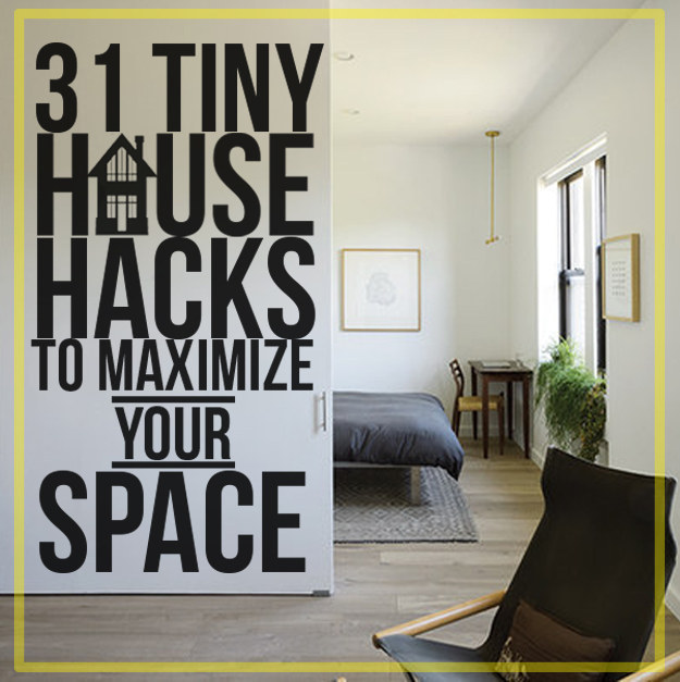 How To Divide An Open Plan Space 9 Ideas: 31 Tiny House Hacks To Maximize Your Space