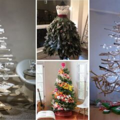 100+ Of The Most Creative DIY Christmas Trees Ever