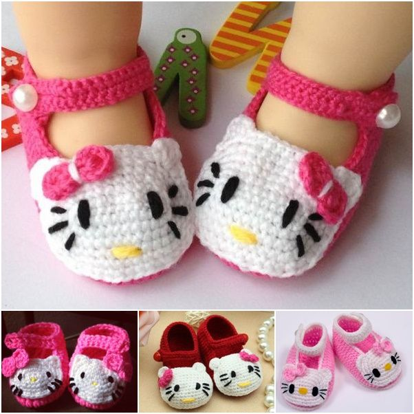 0bbeef355 45 Adorable And FREE Crochet Baby Booties Patterns