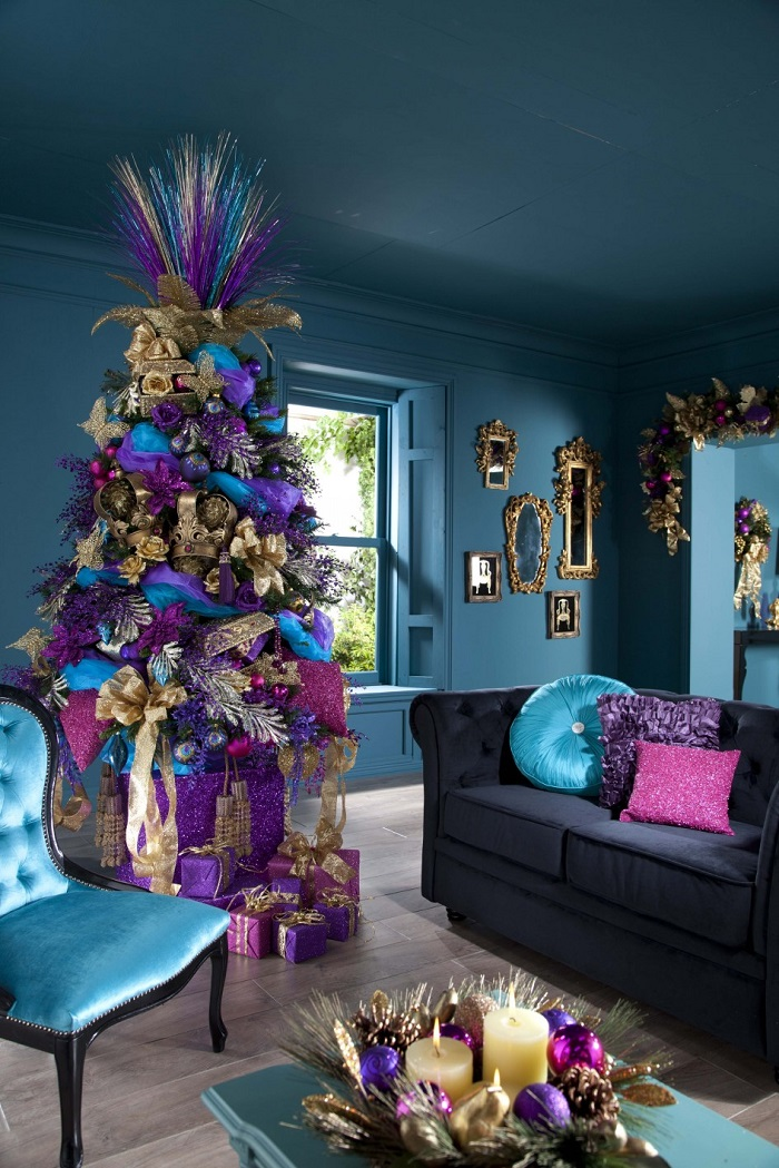 The Most Colorful And Sweet Christmas Trees And Decorations You  - Christmas Tree Decoration Colors