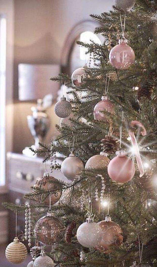 ad colorful and sweet christmas tree decorating ideas - Light Pink Christmas Tree