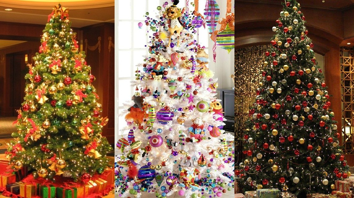 ad colorful and sweet christmas tree decorating ideas - Colorful Christmas Tree Decorations