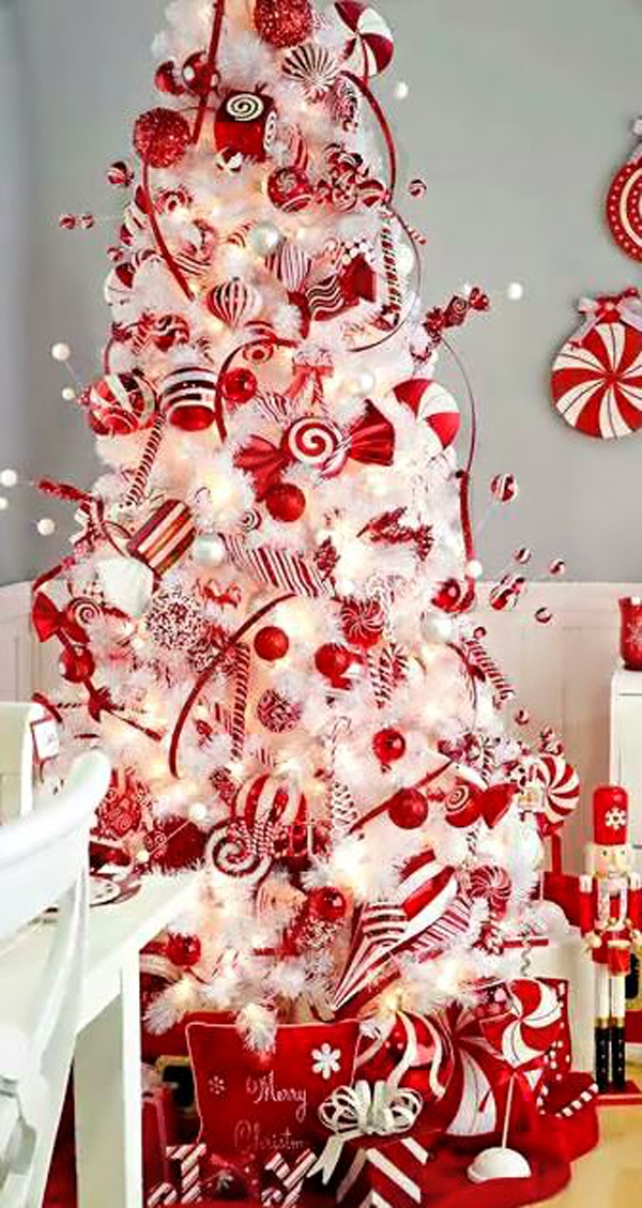 The Most Colorful And Sweet Christmas Trees And Decorations You ...
