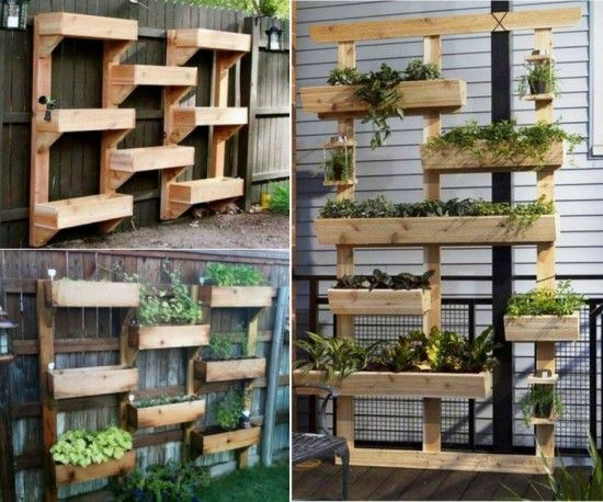 25 creative diy vertical gardens for your home for White garden walls