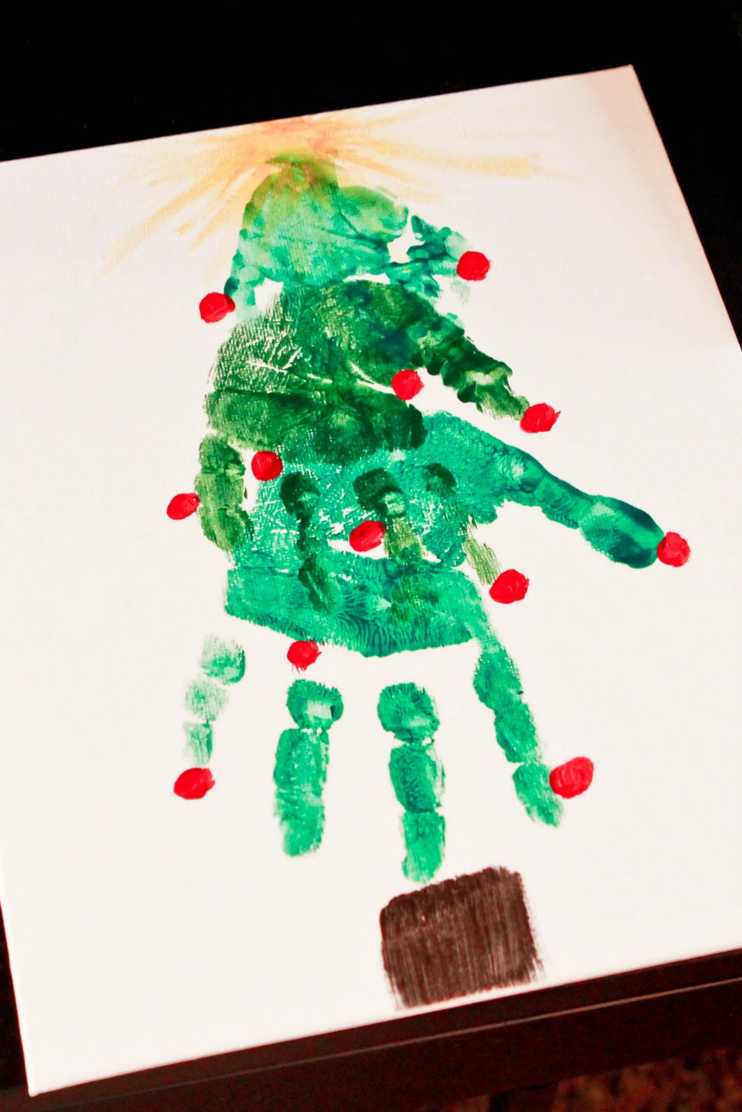 Nice Handprint Christmas Craft Ideas Part - 11: AD-Creative-Handprint-And-Footprint-Crafts-For-Christmas-