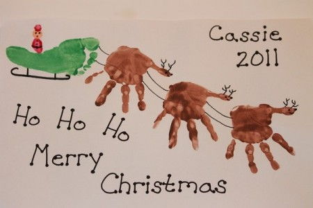 AD-Creative-Handprint-And-Footprint-Crafts-For-Christmas-24