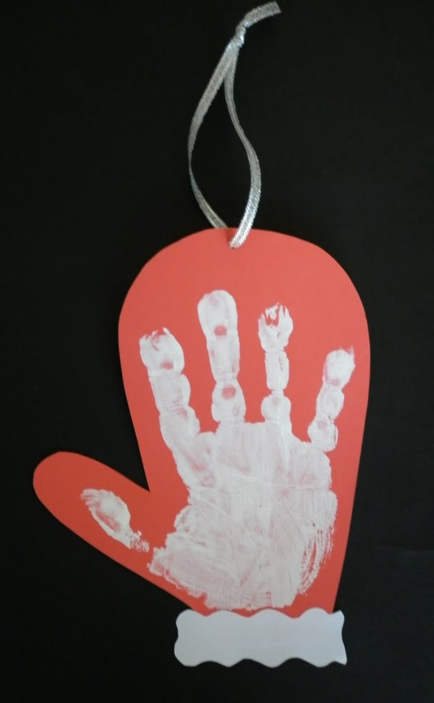 Handprint Christmas Craft Ideas Part - 43: AD-Creative-Handprint-And-Footprint-Crafts-For-Christmas-