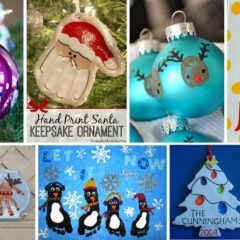 40+ Creative Handprint And Footprint Crafts For Christmas