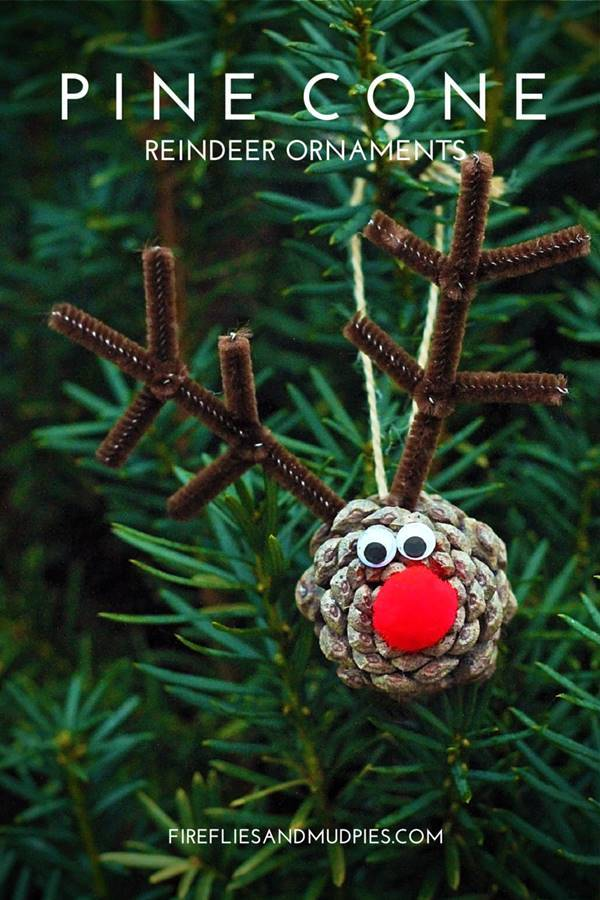Pine Scented Christmas Tree Ornaments