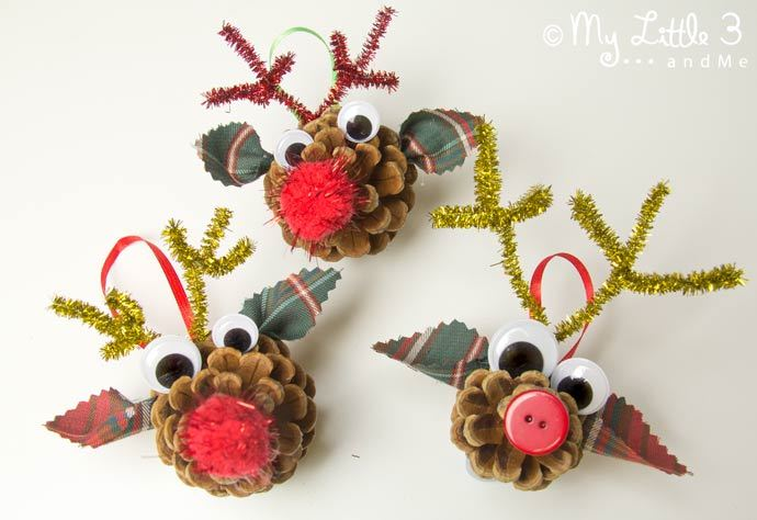 Pine Cone Christmas Ornaments To Make.40 Creative Pinecone Crafts For Your Holiday Decorations