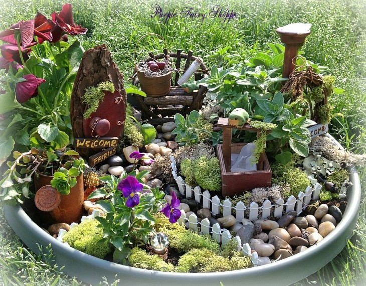ad diy ideas how to make fairy garden - Diy Fairy Garden Ideas